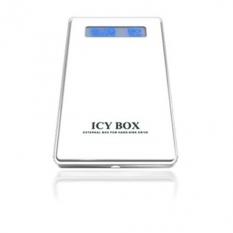 """Box externý 2,5"""" Ib-220StU-Wh Sata/Usb, biely, Icy"""