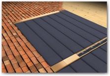 Fotovoltaické střešní šindele Tegosolar