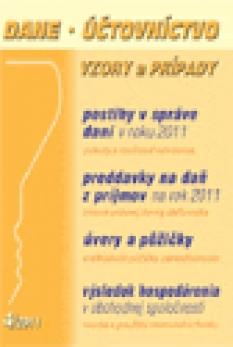 Dane, účtovníctvo, vzory a prípady č. 4 / 2011