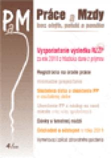 Práce a mzdy - č. 4 / 2011