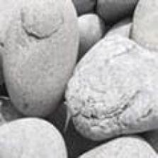 Valounky Beach Pebbles Schwarz