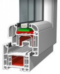 5 komorový profil Aluplast Ideal Rl 4000