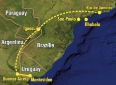 Zájezd - Metropole a přírodní krásy Argentiny, Uruguaye a Brazílie