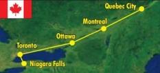 Zájezd - Niagara a metropole východní Kanady