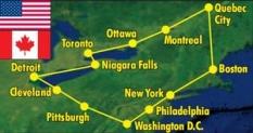 Zájezd - Perly východního pobřeží U.S.A. a Kanady