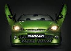 Nárazníky, spojlery - Peugeot - Merkur - Predná maska bez Peugeot emblénu