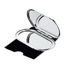 Dámske kovové zrkadlo ( normálne a zväčšujúce)
