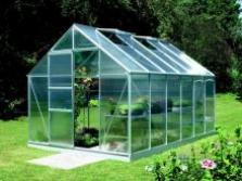 Hliníkové skleníky šírka 193cm