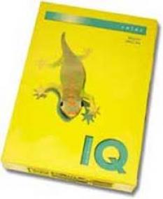 Farebný kopírovací papier - Iq color kanárikovo žltá 80g A4
