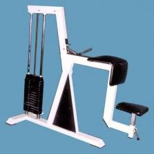 Horizontální biceps - stroj