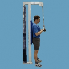 Tricepsová kladka s oporou zad