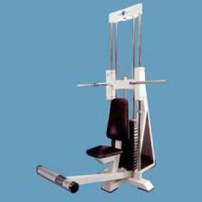 Stroj na tlaky za hlavou vsedě (vodící tyče-rolny)
