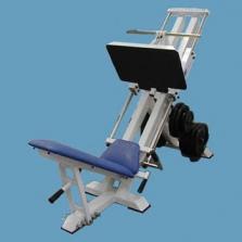 Stroj leg press 45°, trny průměr 30 nebo 50mm (stavitelná opěra nohou)