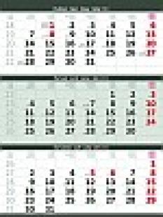 Kalendáře nástěnné