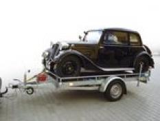 Přívěs SMA - přepravním malé techniky a malých automobilů