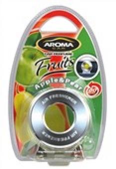 Osvěžovač vzduchu CD Disk gel Apple - Pear