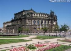 Drážďany s návštěvou zámku moritzburg