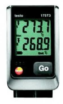 Kompaktní záznamník teploty testo 175t3