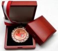 Dřevěná krabička na medaili nebo minci - Woodland Universal