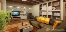 Návrhy nábytku, vizualizácie