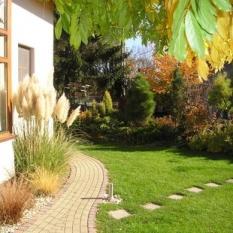 Minimalistická záhrada