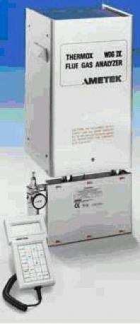Ametek Thermox - analyzátor spalín