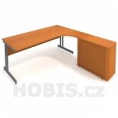 Pracovní stůl CDE 1800 DR L