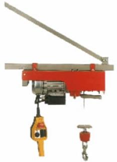Stavebný kladkovýťah P150
