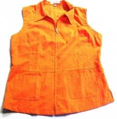Dámska vesta oranžová