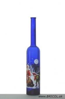 Fľaša s obtiskom Platin