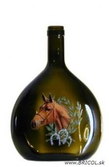 Fľaša s obtiskom Bocksbeutel