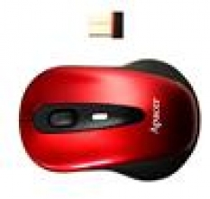 Apacer myš, bezdrôtová s micro konektorom, červená APM821R-S