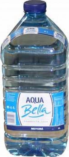 Pramenitá voda Aqua-Bella