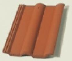 Škridla Bramac Klasik základná tehlovočervená