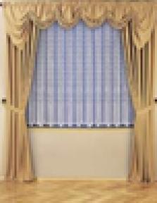 Hotelový textil - závesy a záclony
