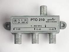 Odbočovač do 2 smerov - PTO 218