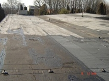 Opravu (údržbu) plochých a šikmých striech - modifikované asfaltové pásy