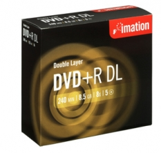 DVD+R Imation double-layer