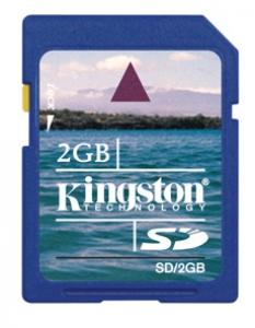 Pamäťová karta 2GB Kingston SD