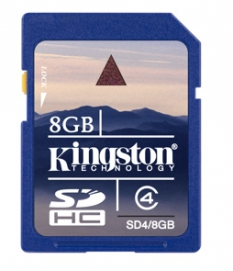 Pamäťová karta 8GB Secure Digital SDHC Kingston