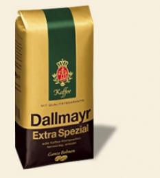Dallmayr Extra Spezial 500g zrnková káva v balení s ventilom