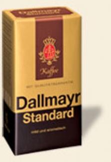 Dallmayr Standard 500g mletá káva v tvrdom vákuovom balení