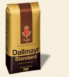 Dallmayr Standard 500g zrnková káva v balení s ventilom