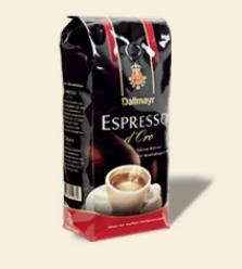 Dallmayr Espresso d´Oro 500g/ 1000g zrnková káva