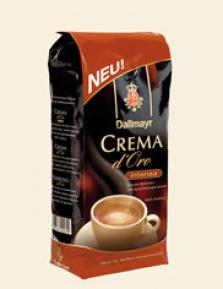 Dallmayr Crema d´Oro intensa 1.000 g zrnková káva