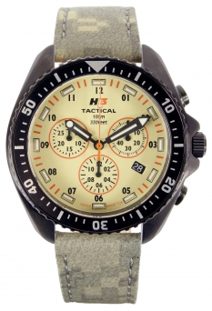Hodinky H3 Tactical Field Ops Chrono Leather