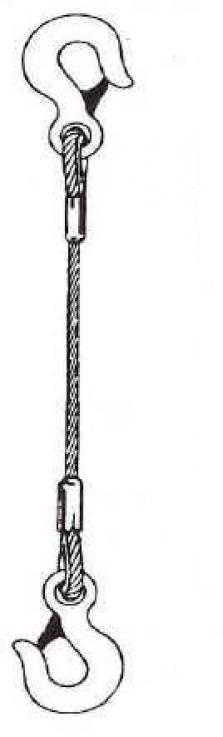 Oceľové laná lisované