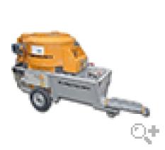 Závitovkové čerpadlo na dopravu maltových zmesí Putzmeister S 5 EV/CM