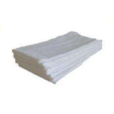Plienka biela bavlnená 80x80 10ks