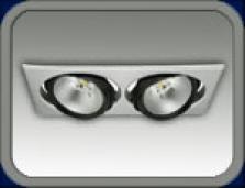 LED osvetlenie pre interiér a exteriér - Downlight